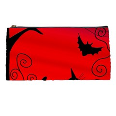 Halloween Landscape Pencil Cases by Valentinaart
