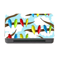 Parrots Flock Memory Card Reader With Cf by Valentinaart