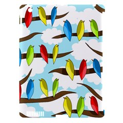 Parrots Flock Apple Ipad 3/4 Hardshell Case (compatible With Smart Cover) by Valentinaart