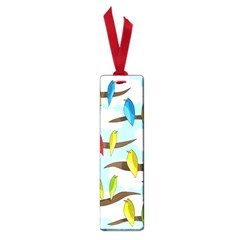 Parrots Flock Small Book Marks by Valentinaart