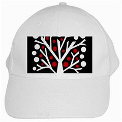 Simply Decorative Tree White Cap by Valentinaart