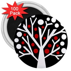 Simply Decorative Tree 3  Magnets (100 Pack) by Valentinaart