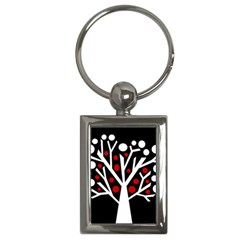 Simply Decorative Tree Key Chains (rectangle)  by Valentinaart