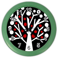 Simply Decorative Tree Color Wall Clocks by Valentinaart
