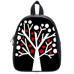 Simply Decorative Tree School Bags (small)  by Valentinaart