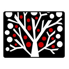 Simply Decorative Tree Fleece Blanket (small) by Valentinaart