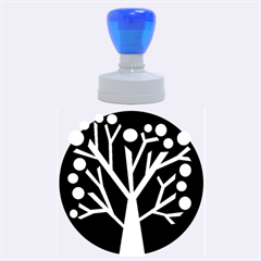 Simply Decorative Tree Rubber Round Stamps (large) by Valentinaart