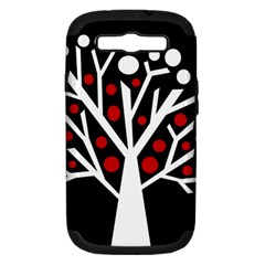 Simply Decorative Tree Samsung Galaxy S Iii Hardshell Case (pc+silicone) by Valentinaart