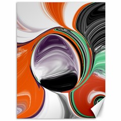 Abstract Orb Canvas 36  X 48   by theunrulyartist