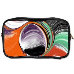 Abstract Orb Toiletries Bags 2 Side by theunrulyartist