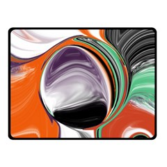 Abstract Orb Fleece Blanket (small) by theunrulyartist