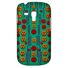 Pumkins Dancing In The Season Pop Art Samsung Galaxy S3 Mini I8190 Hardshell Case by pepitasart