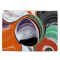 Abstract Orb Cosmetic Bag (xxl)  by theunrulyartist