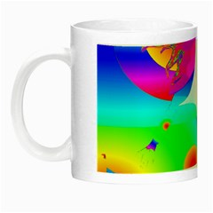 Abstract Color Dream Night Luminous Mugs by icarusismartdesigns
