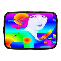 Abstract Color Dream Netbook Case (medium)  by icarusismartdesigns