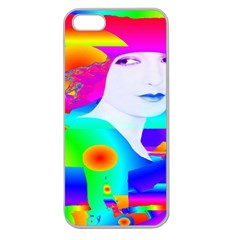 Abstract Color Dream Apple Seamless Iphone 5 Case (clear) by icarusismartdesigns