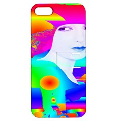 Abstract Color Dream Apple Iphone 5 Hardshell Case With Stand by icarusismartdesigns