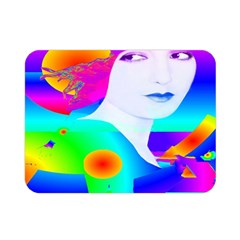 Abstract Color Dream Double Sided Flano Blanket (mini)