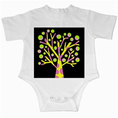 Simple Colorful Tree Infant Creepers by Valentinaart