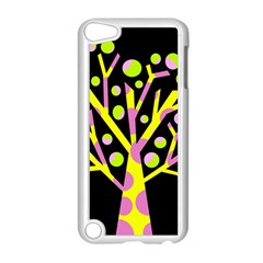 Simple Colorful Tree Apple Ipod Touch 5 Case (white) by Valentinaart
