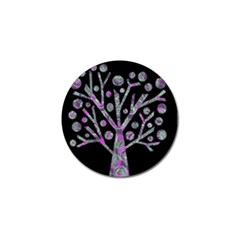 Purple Magical Tree Golf Ball Marker (4 Pack) by Valentinaart