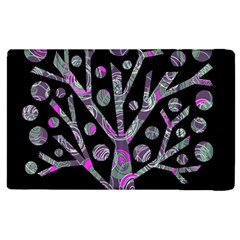Purple Magical Tree Apple Ipad 3/4 Flip Case by Valentinaart