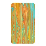 Beautiful Abstract in Orange, Aqua, Gold Memory Card Reader Front