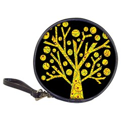 Yellow Magical Tree Classic 20 Cd Wallets by Valentinaart