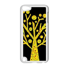 Yellow Magical Tree Apple Ipod Touch 5 Case (white) by Valentinaart