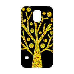 Yellow Magical Tree Samsung Galaxy S5 Hardshell Case  by Valentinaart