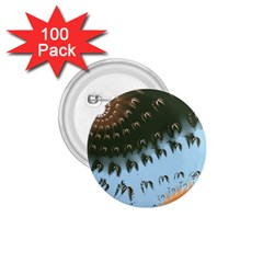 Sun Ray Swirl Design 1 75  Buttons (100 Pack)