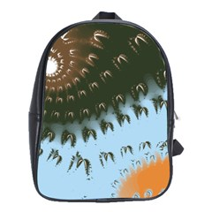 Sun Ray Swirl Design School Bags(large)