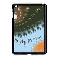 Sun Ray Swirl Design Apple Ipad Mini Case (black)