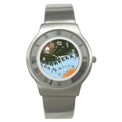 Sunraypil Stainless Steel Watch