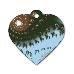 Sunraypil Dog Tag Heart (one Side) by theunrulyartist