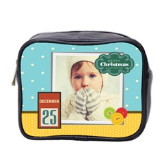 Xmas By 2016   Mini Toiletries Bag (two Sides)   Jwrgj5da4utn   Www Artscow Com Front