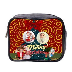 Xmas By 2016   Mini Toiletries Bag (two Sides)   Ahvqmte2n8wr   Www Artscow Com Front