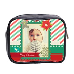 Xmas By 2016   Mini Toiletries Bag (two Sides)   L1m3n3c0ocvt   Www Artscow Com Back