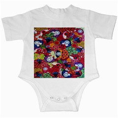 Guatemala Art Painting Naive Infant Creepers by Zeze