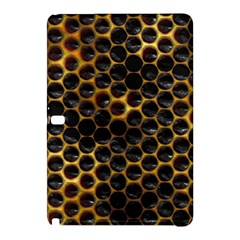 Hexagon Honeycomb Grid Pattern Samsung Galaxy Tab Pro 12.2 Hardshell Case by Zeze