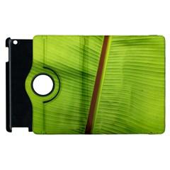 Ensete Leaf Apple Ipad 2 Flip 360 Case