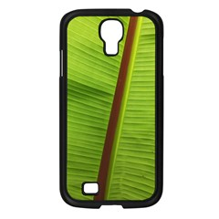 Ensete Leaf Samsung Galaxy S4 I9500/ I9505 Case (black) by picsaspassion