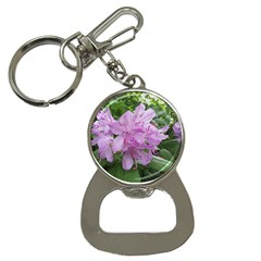 Purple Rhododendron Flower Bottle Opener Key Chains by picsaspassion
