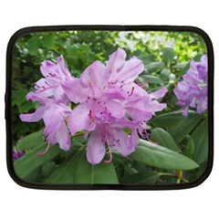 Purple Rhododendron Flower Netbook Case (xxl)  by picsaspassion