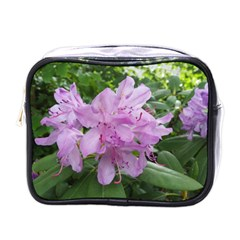 Purple Rhododendron Flower Mini Toiletries Bags by picsaspassion