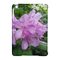 Purple Rhododendron Flower Apple Ipad Mini Hardshell Case (compatible With Smart Cover) by picsaspassion