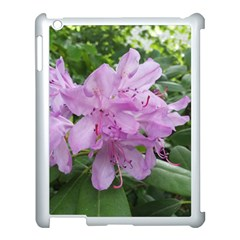 Purple Rhododendron Flower Apple Ipad 3/4 Case (white) by picsaspassion