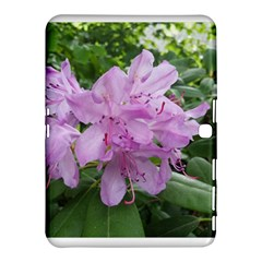 Purple Rhododendron Flower Samsung Galaxy Tab 4 (10.1 ) Hardshell Case  by picsaspassion