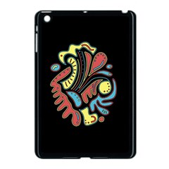 Colorful Abstract Spot Apple Ipad Mini Case (black) by Valentinaart