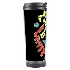 Colorful Abstract Spot Travel Tumbler by Valentinaart